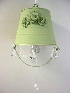Bucket lamp