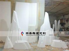 Icebergs glacial ice flow rockery watch Shi Shi meteorites can be custom foam sculpture, props