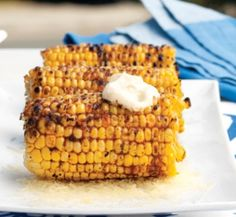 Corn cob BBQ