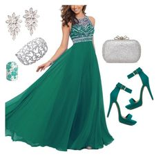 """""""Green <3"""" by lella-336 ❤ liked on Polyvore featuring Ice"""