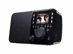 Logitech REFURBISHED Squeezebox Radio Music Player with Color Screen (Black) by Logitech. $119.99. Listen to infinite music, news and sports from every corner of the globe with this easy-to-use, all-in-one Wi-Fi music player--all without a computer Start listening to free Internet radio stations, online music services, and your personal iTunes collection in minutes--connects easily to your home network via Wi-Fi Bring full, high-quality sound to any room with an ultra...