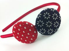 Red Headband, Headbands, Business Hairstyles, Fabric Covered Button, Girls Hair Accessories, Girls Bows, Bandeau, Color Pallets, Girl Gifts