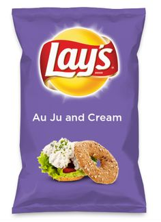 Wouldn't Au Ju and Cream be yummy as a chip? Lay's Do Us A Flavor is back, and the search is on for the yummiest flavor idea. Create a flavor, choose a chip and you could win $1 million! https://www.dousaflavor.com See Rules.