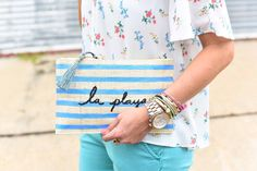 the must-have clutch for summer via @anthropologie / IG @_Anna_English