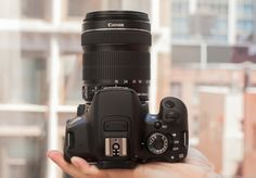 The Canon EOS Rebel T4i is a great dSLR if you can afford top-end. $599.95