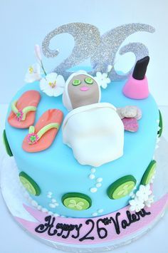 Spa Cake by thecakemamas, via Flickr