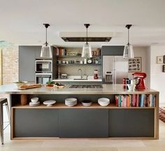 Linear Fixtures for the Kitchen | My Lovely Home