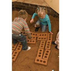 Foam House Bricks - The size and colour of a house brick, these pretend bricks will make children feel like real little builders. The most realistic brick on the market, they have authentic holes through the bricks and are easy for small hands to transport around your setting. Made from tough foam, they are coated in a robust water resistant plastic, making them ideal for play indoors or out.