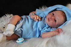 Reborn baby Chris by Brit Klinger- New release! LE #396/700. Cute little boy!