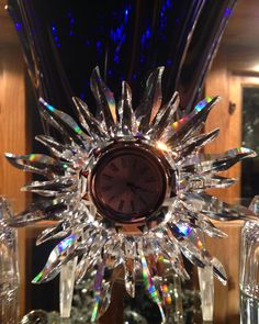 Swarovski Sunburst Clock - From my collection.
