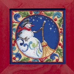 Counted Cross Stitch CHRISTMAS Tree Jim Shore KIT 5 x 5