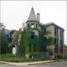 Detroit ruins. Urbex