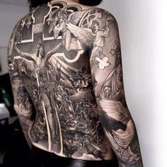 Tattoo art works by Niki23gtr