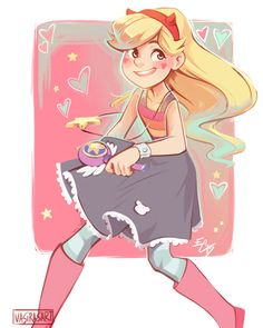 Aww I love this art style!