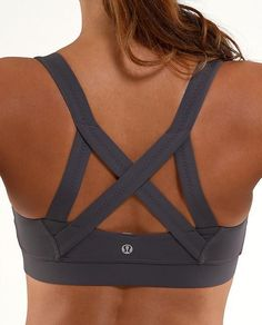 Lululemon Grey Sports Bra for my Crossfit Workouts | Crossfit Apparel for Women. Look great and Feel Good while Crossfitting. A Wide Range of Crossfit Tank Tops| Singlets| Shorts| Sports Bra @ www.FitnessGirlApparel.com