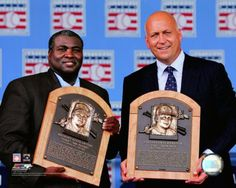 Tony Gwynn, here pictured with Cal Ripken Jr.. Two of the all-time greats! I have met them both, and had the chance to spend some time them; they are both really good guys.