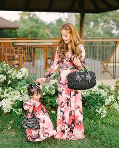 Matching Mother and Daughter Outfits  | http://brideandbreakfast.ph/2015/05/12/blooming-and-beautiful/ | Photography: Toto Villaruel