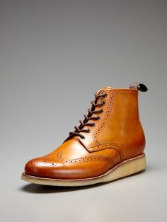 Sharp Derby Boots by Grenson on Gilt.com - FML! sold out! such a steal for a staple piece.