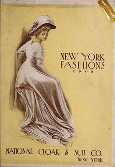 New York fashions, 1908