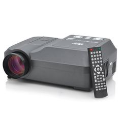 Ocelot - Home Theater Projector with DVD Player (200 ANSI Lumens, 800x600, 100:1)