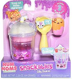 Num Noms Snackables Silly Shakes- Mixed Berry Smoothie Plush, Multicolor - New ! Lol Dolls, Barbie Dolls, Toys For Girls, Kids Toys, Muñeca Baby Alive, Num Noms Toys, Mixed Berry Smoothie, Baby Doll Accessories, Art Drawings For Kids