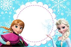 dicas and models to print - Birthday FM : Home of Birtday Inspirations, Wishes, DIY, Music & Ideas Frozen Birthday Invitations, Frozen Themed Birthday Party, Party Invitations Kids, Frozen Party, Birthday Party Themes, Anna E Elsa, Frozen Elsa And Anna, Frozen Princess, Barbie Birthday