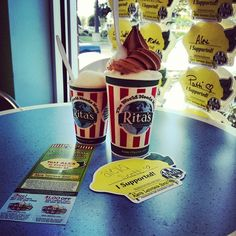 2013 is Rita's eighth consecutive year raising money for Alex's Lemonade Stand.  Awesome!