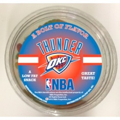 OKC Thunder Candy from nba candy store. Good for Kids basketball parties or just a gift for big basketball fans