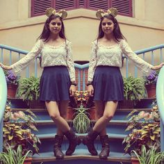 Disneyland outfit of the day idea! :)