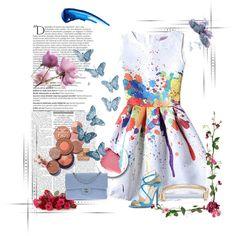 Il #blu è un'ottima soluzione. Il #cielo, gli #occhi, il #mare... #Good #morning #fashion #girls  <3 A #touch of #color: #Blue new #post now on www.robyzlfashionblog.com by robertazl on Polyvore featuring moda, Jimmy Choo, Chanel, MIANSAI and Balmain