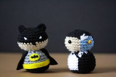 Crochet Batman and Two-Face