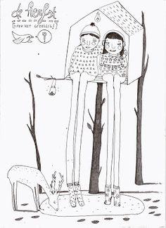 Illustratie voor jacqueline