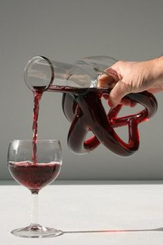 Wine carafe with stand....