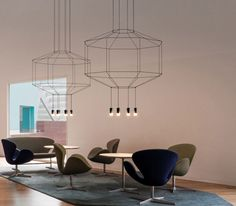 Wireflow 3D Volumes | VIBIA Inc. | productFind | InteriorDesign.net