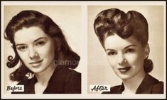 1940s-Hollywood-Makeover---before-and-after