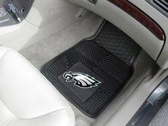 """NFL - Philadelphia Eagles Heavy Duty 2-Piece Vinyl Car Mats 17""""x27"""""""