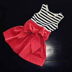 girl's dress tutorial.