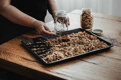 Muesli, Granola, Breakfast Dishes, Breakfast Recipes, Breakfast Ideas, Top Recipes, Cooking Recipes, Cooking Hacks, Oats Recipes