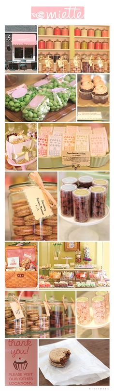 A little too cute and Easter themed for this one, but I like some of the jars and tags!