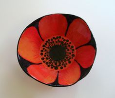 kelly tomfohr ceramic flower bowl
