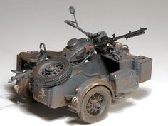 BMW R75 with sidecars and trailers Anton Hofer (1:35 Lion Roar)