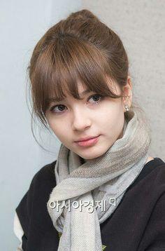 shannon williams korean - Google Search Kawaii, Korea Fashion, Women's Fashion, Asian Actors, Bangs, Actors & Actresses, My Girl, Beautiful People, Idol