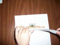 Fine motor and visual perceptual activity that involves cutting a picture in strips, removing them, and then drawing the missing ones.