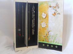 Jewelry Box From Wooden Wine Box by HootandCompany on Etsy