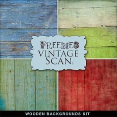 Far Far Hill: New Freebies Kit of Wooden Backgrounds