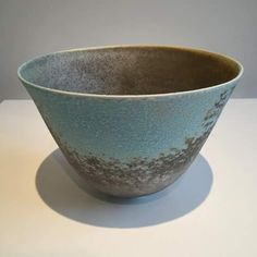 "...""conical form one""...soda fired porcelain...jack doherty...ceramist....belfast..northern ireland..."