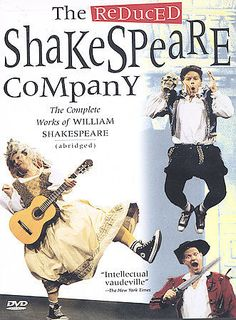 The Reduced Shakespeare Company Compete Works of William Shakespeare DVD