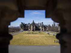 "On Feb. 7, Peri McIntosh took this unique shot of the Biltmore Estate in Asheville, N.C. ""I am always looking for ways to frame the subject naturally, and I thought that the ornate cement railing provided a wonderful frame for the equally ornate house,"" McIntosh says.  Peri McIntosh, Your Take"