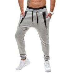 19.35$  Buy here - http://di0sd.justgood.pw/go.php?t=202556401 - PU Leather Insert Drawstring Waist Jogger Pants