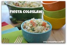 Fiesta Coleslaw | Toot Sweet 4 Two